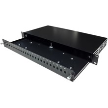 Bn-19Fp24St Beek  Rack Tipi Fiber Optik Patch Panel, 24 X Simplex St  - 1