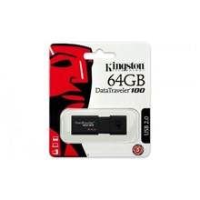 Kingston 64Gb Usb3.0 Bellek Dt100G3/64Gb - 1