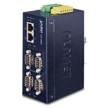 Pl-Ics-2400T Endüstriyel 4-Port Rs232/Rs422/Rs485 Serial Device Server≪Br≫