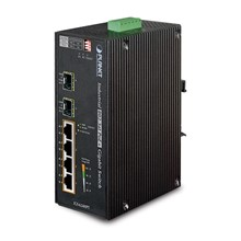 Pl-Igs-624Hpt Endüstriyel Tip Yönetilemeyen Poe+ Switch (Industrial Unmanaged Poe+ Switch)≪Br≫