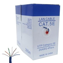 Powergate Cat5-Box 24Awg 0.45Mm Cat5 Kablo 305Mt - 1