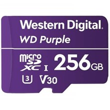 Wd 256Gb Purple Micro Sd 60Mb/S C10 Wdd256G1P0A - 1
